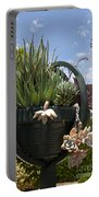 Succulents In A Planter Portable Battery Charger