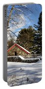 Sudbury - Grist Mill Winter Portable Battery Charger