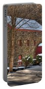 Sudbury Wintery Grist Mill Portable Battery Charger