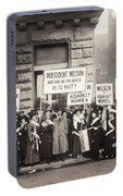 Suffrage Protest, 1916 Portable Battery Charger