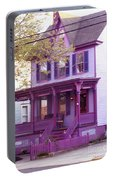Sugar Plum Purple Victorian Home Portable Battery Charger