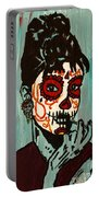 Sugar Skull Audrey Portable Battery Charger