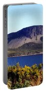 Sugarloaf Hill In Summer Portable Battery Charger