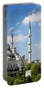 Sultan Ahmed Mosque Landmark In Istanbul Turkey Portable Battery Charger