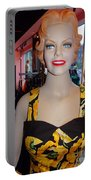 Sultry In Sunflowers Portable Battery Charger