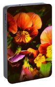 Sultry Nights - Flower Photography Portable Battery Charger
