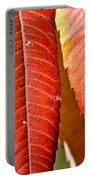 Sumac Leaves Portable Battery Charger