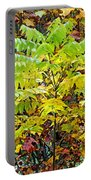 Sumac Leaves In The Fall Portable Battery Charger