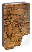 Sumerian Map, Clay Cuneiform Tablet Portable Battery Charger