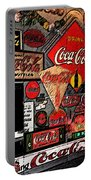 Sumi-e Styled Coca Cola Signs Portable Battery Charger