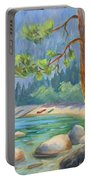 Summer At Lake Tahoe Portable Battery Charger