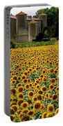 Summer Bliss Portable Battery Charger by France  Art