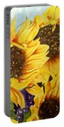 Summer Bouquet Portable Battery Charger