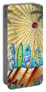Summer Break By Madart Portable Battery Charger by Megan Duncanson