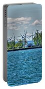 Summer Breeze From Lasalle Park Portable Battery Charger