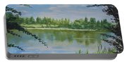 Summer By The River Portable Battery Charger