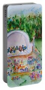Summer Concert In The Park Portable Battery Charger