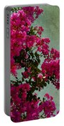 Summer Crape Myrtles Portable Battery Charger