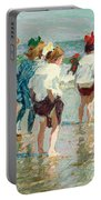 Summer Day Brighton Beach Portable Battery Charger