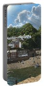 Summer Evening Clovelly North Devon Portable Battery Charger