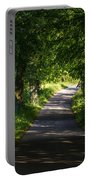Summer Forest Road Portable Battery Charger