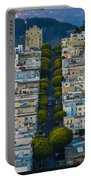 Summer Green On Lombard Street Portable Battery Charger