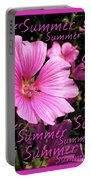 Summer Greetings Portable Battery Charger