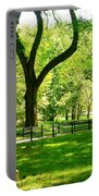 Summer In Central Park Manhattan Portable Battery Charger