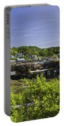 Summer In South Bristol On The Coast Of Maine Portable Battery Charger