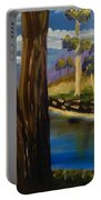 Summer In The Snowy River Region Portable Battery Charger