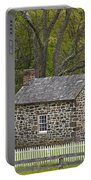 Summer Kitchen In Spring - Colonial Stone Portable Battery Charger