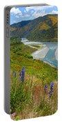 Summer Landscape  Portable Battery Charger