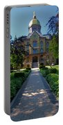 Summer On Notre Dame Campus Portable Battery Charger