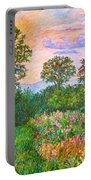 Summer Path At Rock Castle Gorge Portable Battery Charger