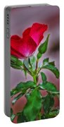 Summer Rose Portable Battery Charger
