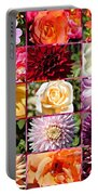 Summer Roses And Dahlias 2013 Portable Battery Charger