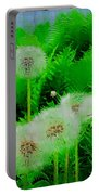 Summer Scenery In Green Portable Battery Charger