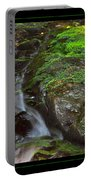 Summer Stream Waterfall Portable Battery Charger