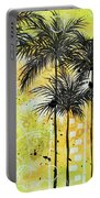 Summer Time In The Tropics By Madart Portable Battery Charger