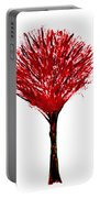 Summer Tree Painting Isolated Portable Battery Charger
