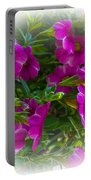 Summers Flowers Portable Battery Charger