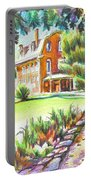 Summertime At Ursuline No C101 Portable Battery Charger