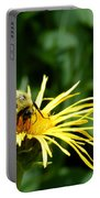 Summertime Bee Portable Battery Charger