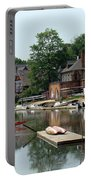 Summertime On Boathouse Row Portable Battery Charger