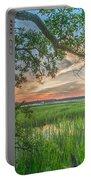 Summertime Sunset Portable Battery Charger