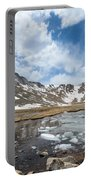 Summit Lake In The Spring Portable Battery Charger