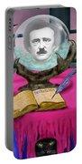 Summoning Edgar Allan Poe Portable Battery Charger