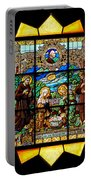 Sun Burst Stained Glass Portable Battery Charger