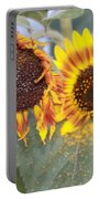 Sun Flowers Portable Battery Charger