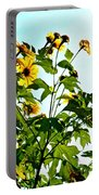 Sun Flowers In The Sun Portable Battery Charger